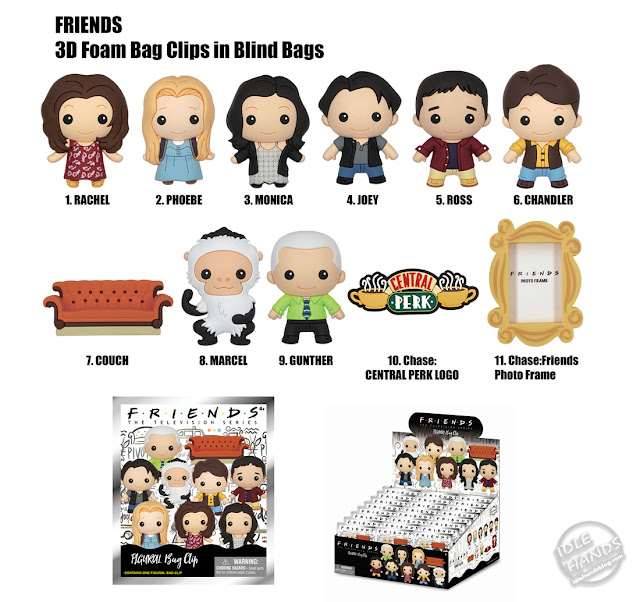 Toy Fair 2020 Monogram Friends Foam Figures