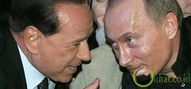 Perkawanan Jahat Berlusconi-Putin