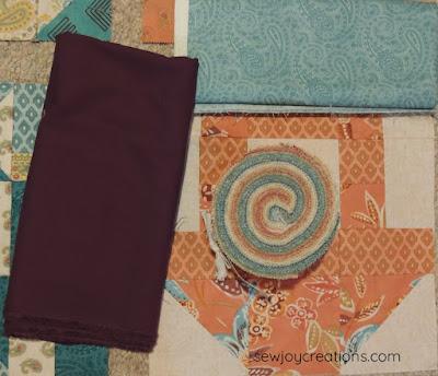 prayer flag fabric jelly roll