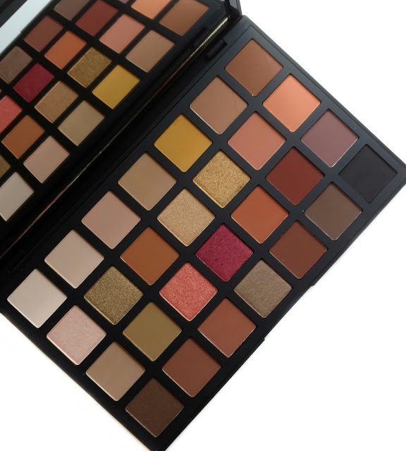 sephora collection pro warm eyeshadow palette review