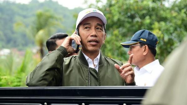 Pertumbuhan ekonomi tak capai target, Jokowi: Harus tetap disyukuri