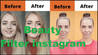 Beauty filter instagram | How to get  Beauty Filter on Instagram
