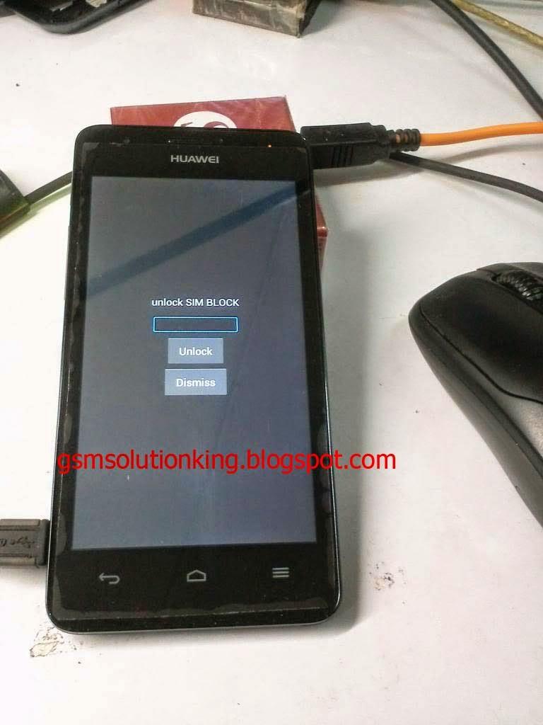 Huawei sim unlock