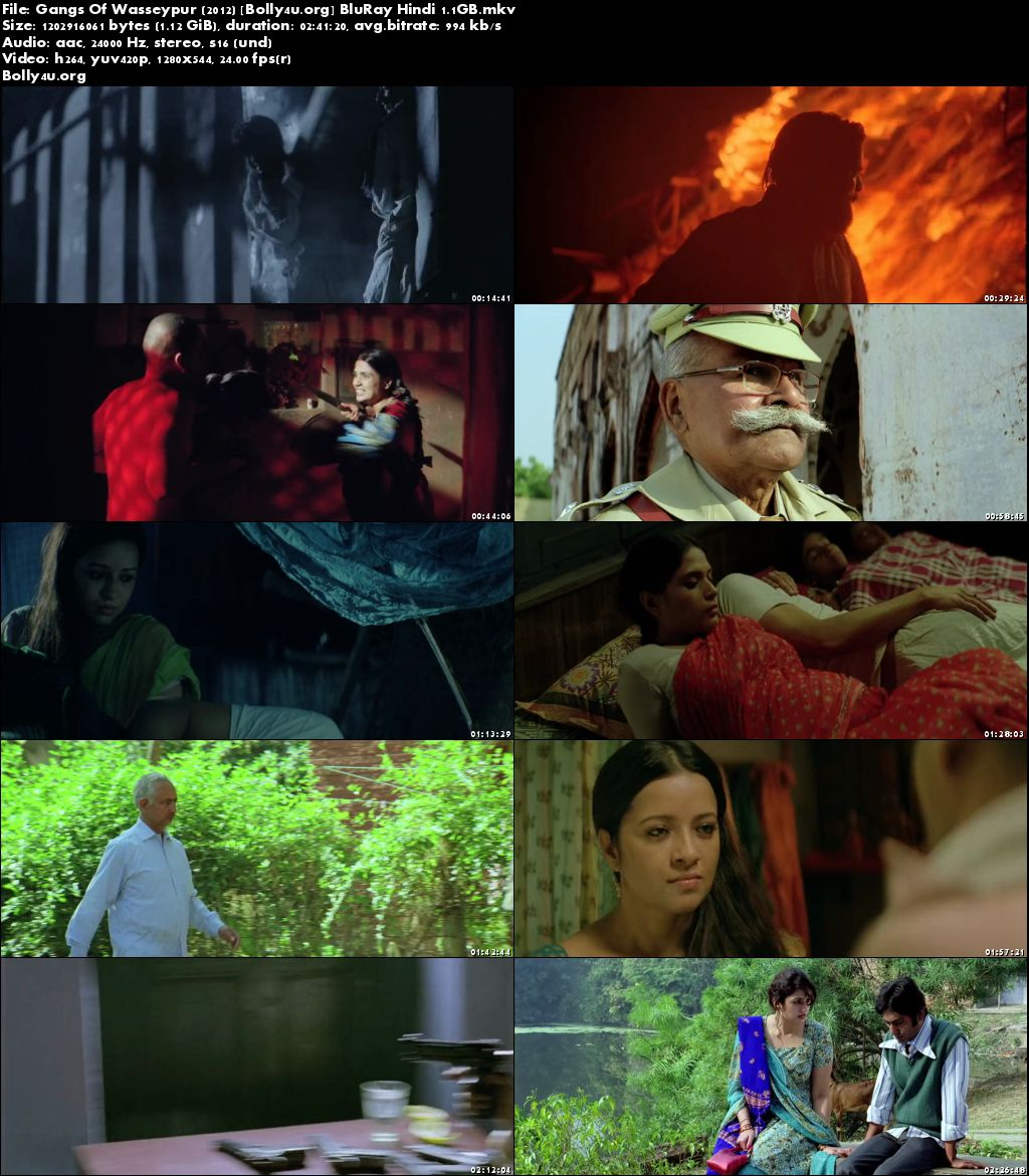 Gangs Of Wasseypur 2012 BluRay Full Hindi Movie Download 720p