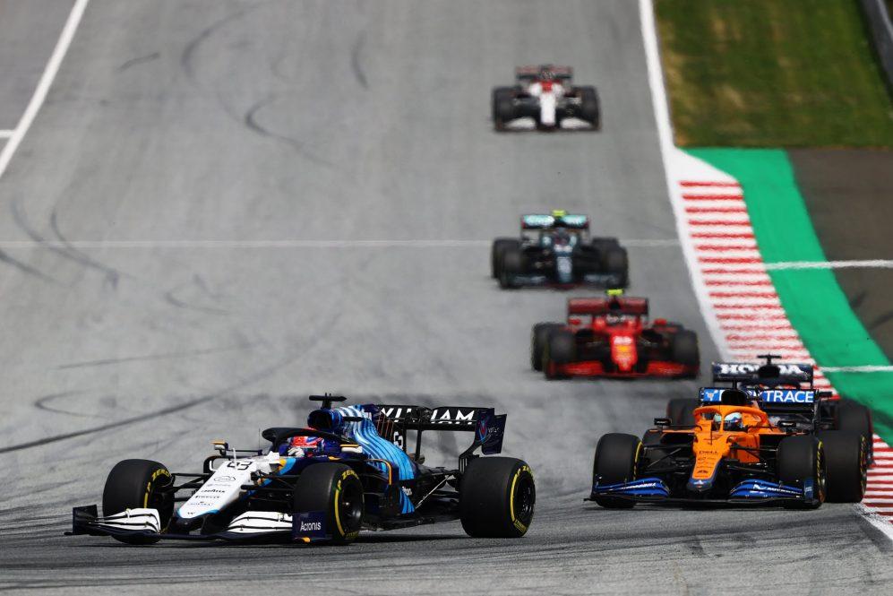 Preso no trânsito, Ricciardo não conseguiu voltar ao campo na Estíria