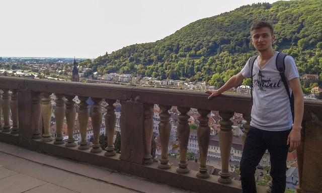 Harun İstenci Almanya'da Heidelberg'de