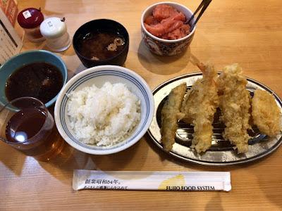 天ぷらえびのや OMM店