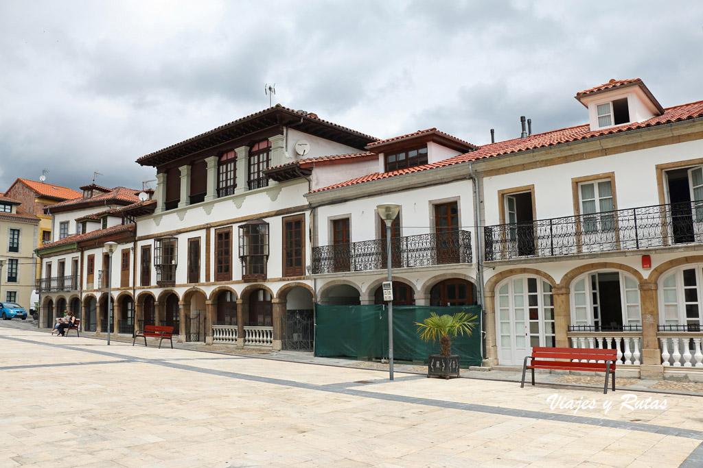 Casas de los Canónigos de Pravia
