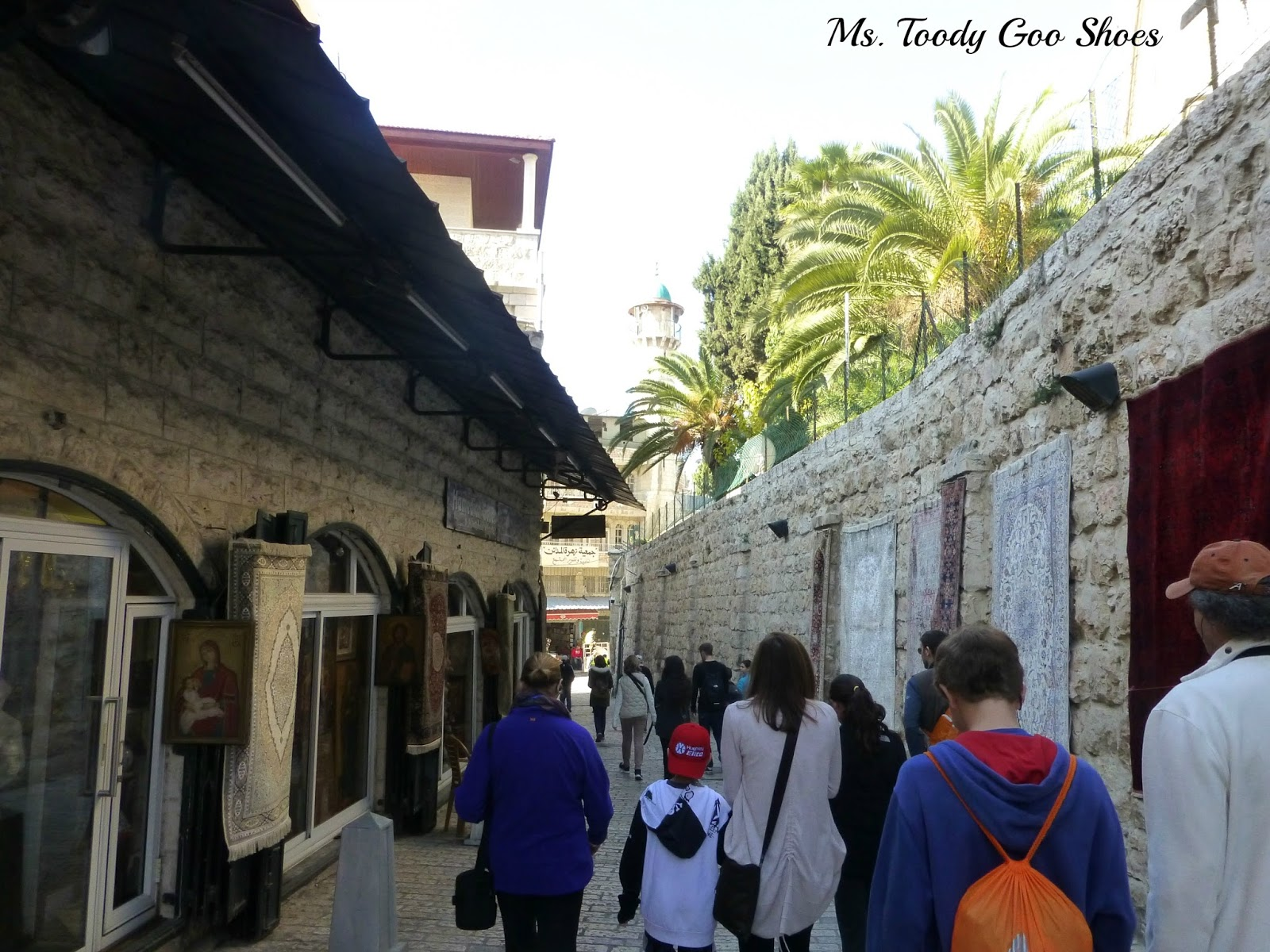 Church of the Flagellation,  Jerusalem --- Ms. Toody Goo Shoes
