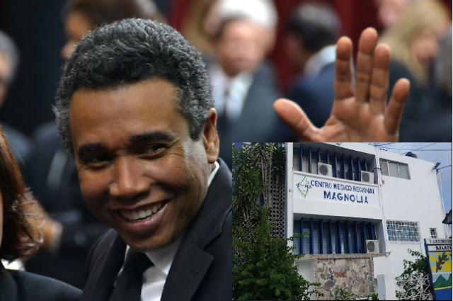 Senador Félix Bautista es ingresado en un centro de Salud de Barahona, por intoxicación alimenticia.