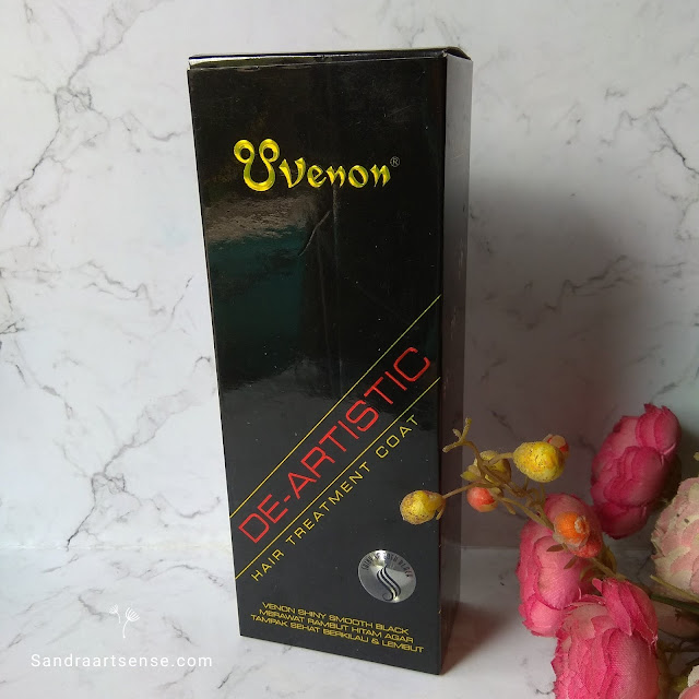 Review Venon Hair Treatment Coat Shiny Smooth Black