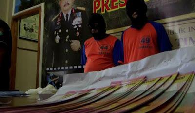 Dua Pengedar Upal Dibekuk, Polisi Amankan Rp 108 Juta Upal