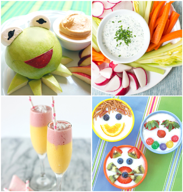 20+ Yummy and Fun After School Snacks - via BirdsParty.com