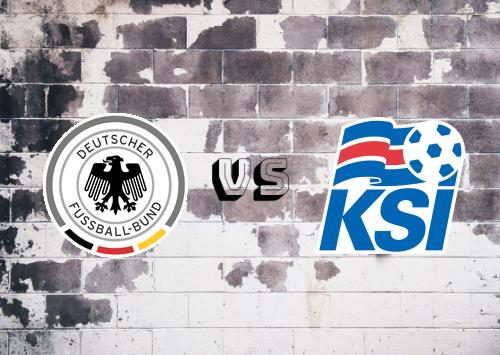 Alemania vs Islandia  Resumen y Partido Completo