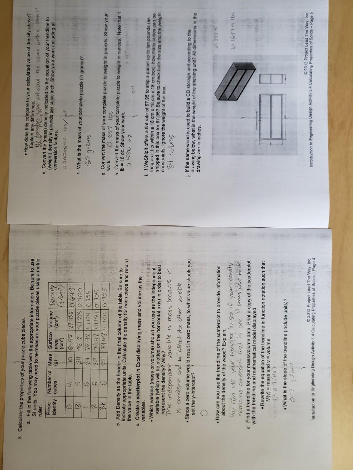 Activity 5 4 Calculating Properties Of Solids