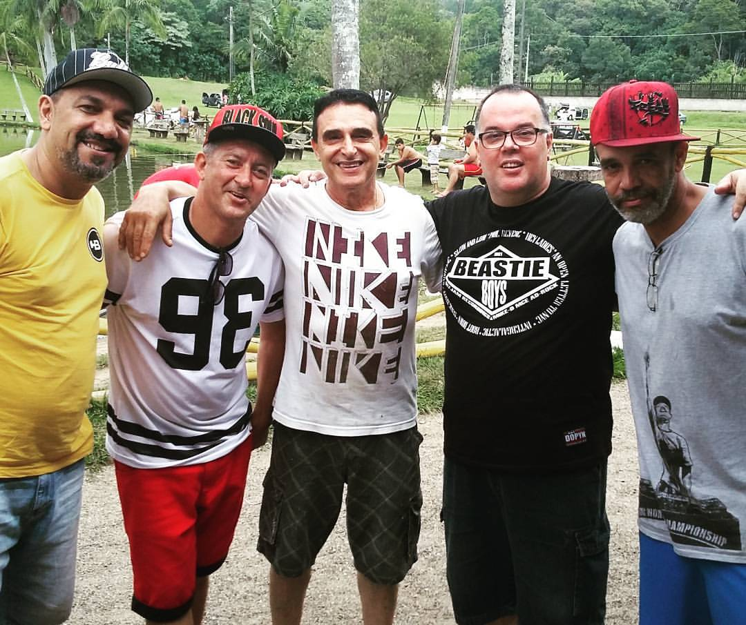 PAULO BREAK, JAMES D, DJ ARMANDO MARTINS, HELIOBRANCO & DJ NINJA