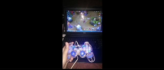 Cara Setting Joy Stick Untuk bermain mobile legends