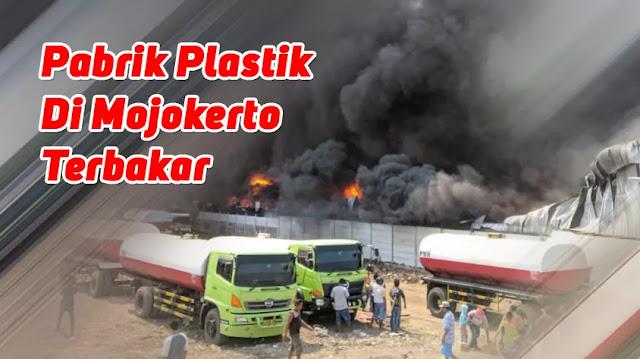 Pabrik Plastik Surya Sentoso Sejati Terbakar