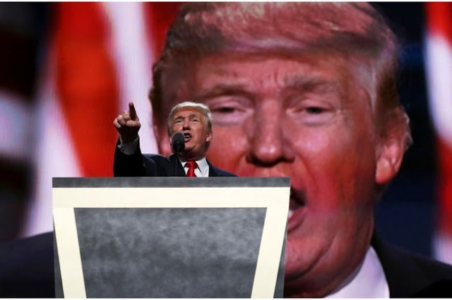 US election: Trump reacts to Muslim father's jibes