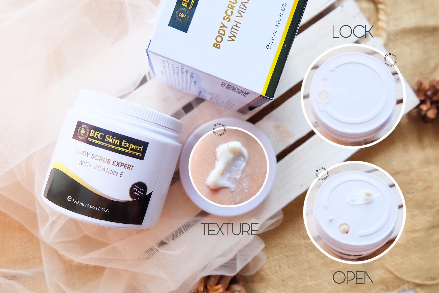 Manfaat Body Scrub Expert BEC Skin Expert