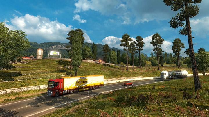 Descargar Euro Truck Simulator 2 camión en ruta