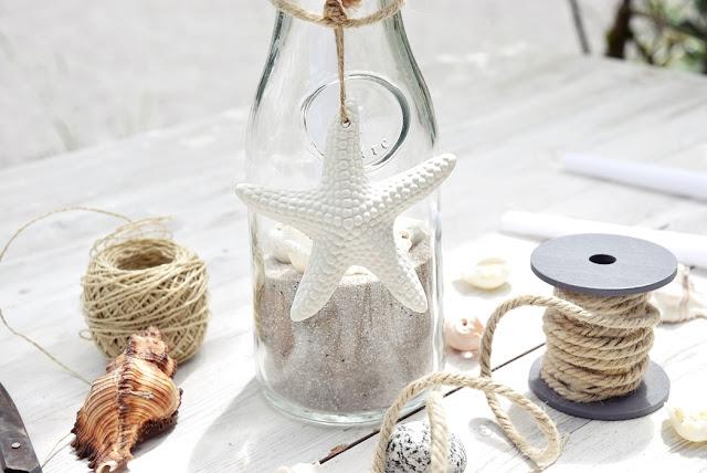 Sommerkerzen für die Tischdeko selbermachen