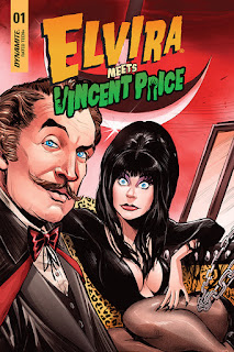 Elvira Meets Vincent Price from Dynamite Entertainment cover #1b