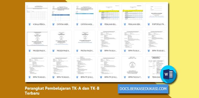 Perangkat Pembelajaran TK-A dan TK-B Tahun 2019-2020