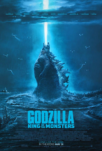 Godzilla: King of the Monsters 2019 Warner Bros. movie poster