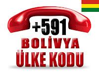 +591 Bolivya ülke telefon kodu