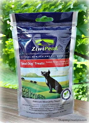 Thanks to our friends at #Chewy for letting us try #ZiwiPeak Good-Dog #dogtreats #Venison #GrainFree #NewZealand #ChewyInfluencer ©LapdogCreations