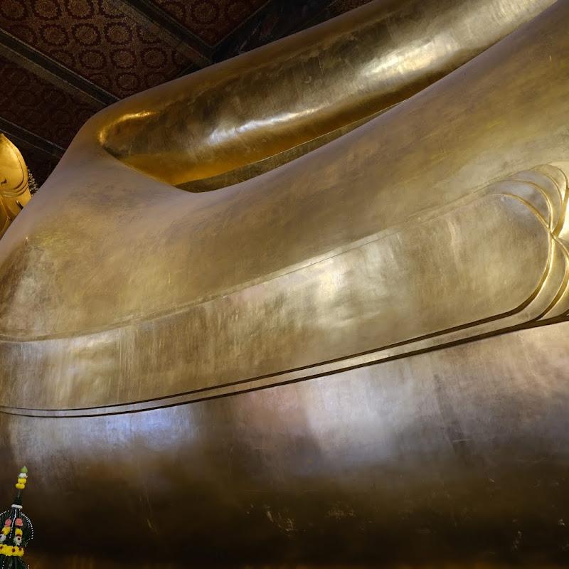 昭披耶河旁尋訪懷舊:臥佛寺
