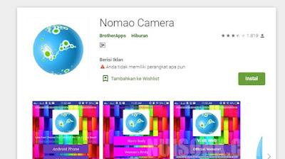 Download Nomao Camera APK versi Terbaru 2021
