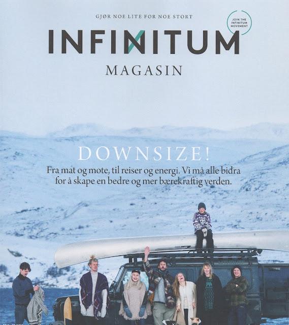 Få med et gratis Infinitum magasin på kjøpet hos Be:Eco netthandleri