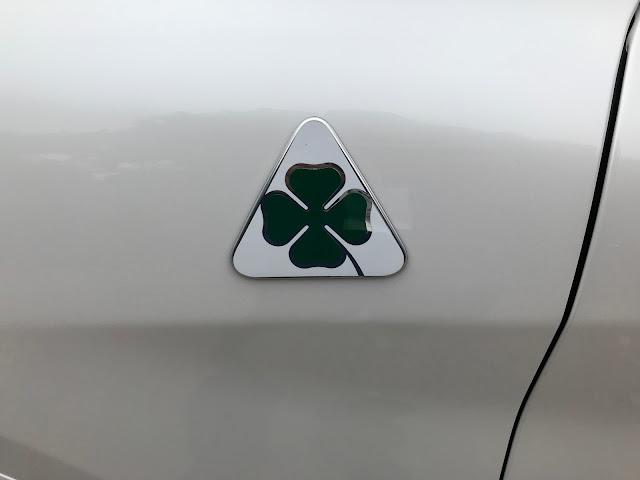 Quadrifoglio badge