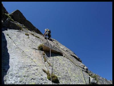 Espolón Picapiedra al Pico de la Renclusa