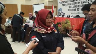KPU Kota Mojokerto Pastikan Seluruh Caleg Terpilih Sudah Serahkan LHKPN