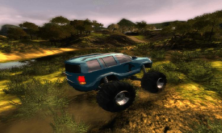 تحميل لعبة السيارات big truck 4x4 challenge برابط مباشر