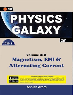 Physics Galaxy by Ashish Arora Magnetism, EMI & Alternating Current Book Pdf