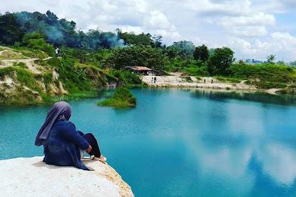 Telaga Biru Cigaru, Danau Cantik dari Tangerang