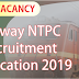 Railway NTPC Recruitment Notification 2019: 35,227 Vacancy Apply Online