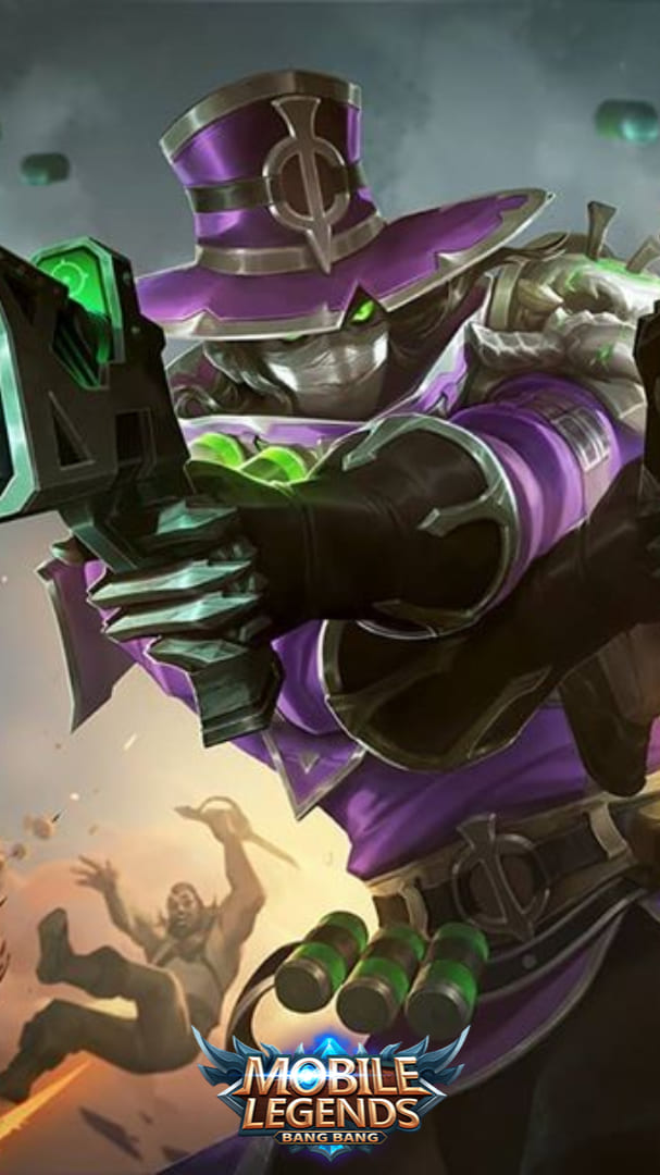 Wallpaper Clint Witch Hunter Skin Mobile Legends HD for Mobile