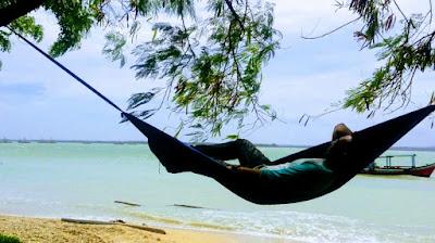 paket camping-glamping pantai tanjung lesung tour wisata