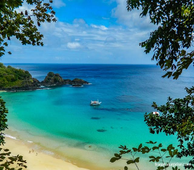 Férias de julho Brasil - Praia do Sancho, Fernando de Noronha