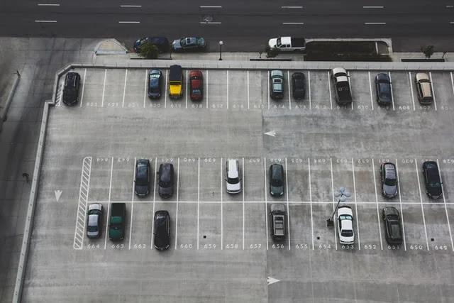 aprende ingles trafico plaza aparcamiento parking plazas libres