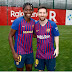 Asisat Oshoala spotted with Barcelona star, Lionel Messi