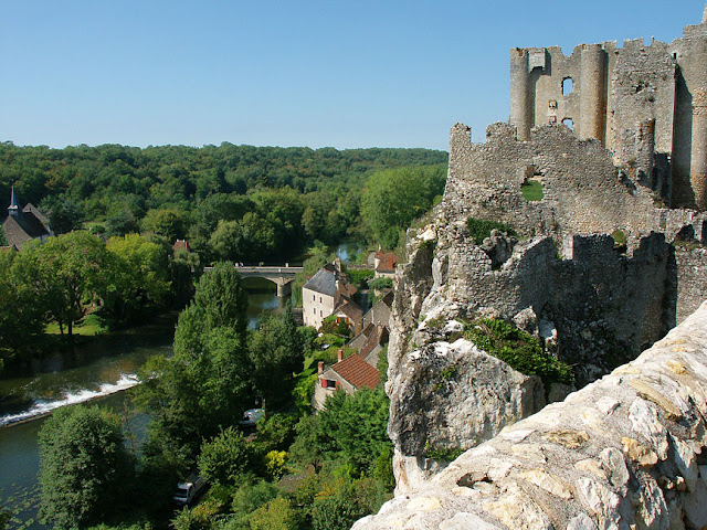 Chateau d'Angles sur l'Anglin, Vienne, France. Photo by Loire Valley Time Travel.