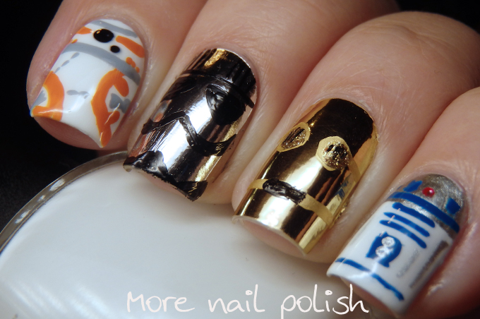 Star Wars nails - Star Wars Nails ~ More Nail Polish