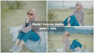 Free Preset Lightroom Chocho Green Terbaru DNG & XMP