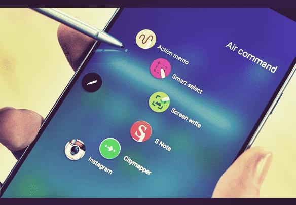 Screenshot samsung menggunakan S Pen